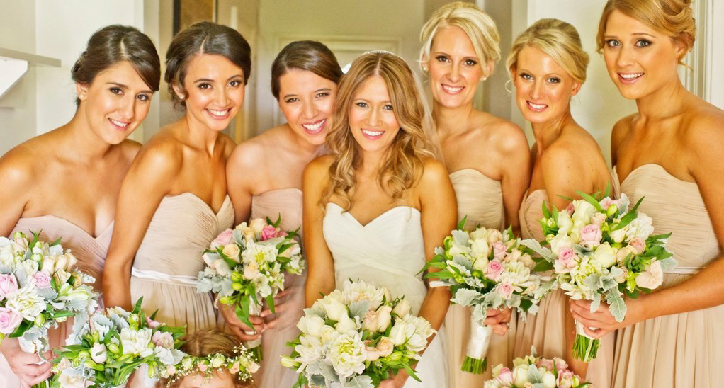 Real Bridesmaids In Beige Bridesmaid Dresses: Sapphire Bridesmaid Dresses Is Great Choice For Your