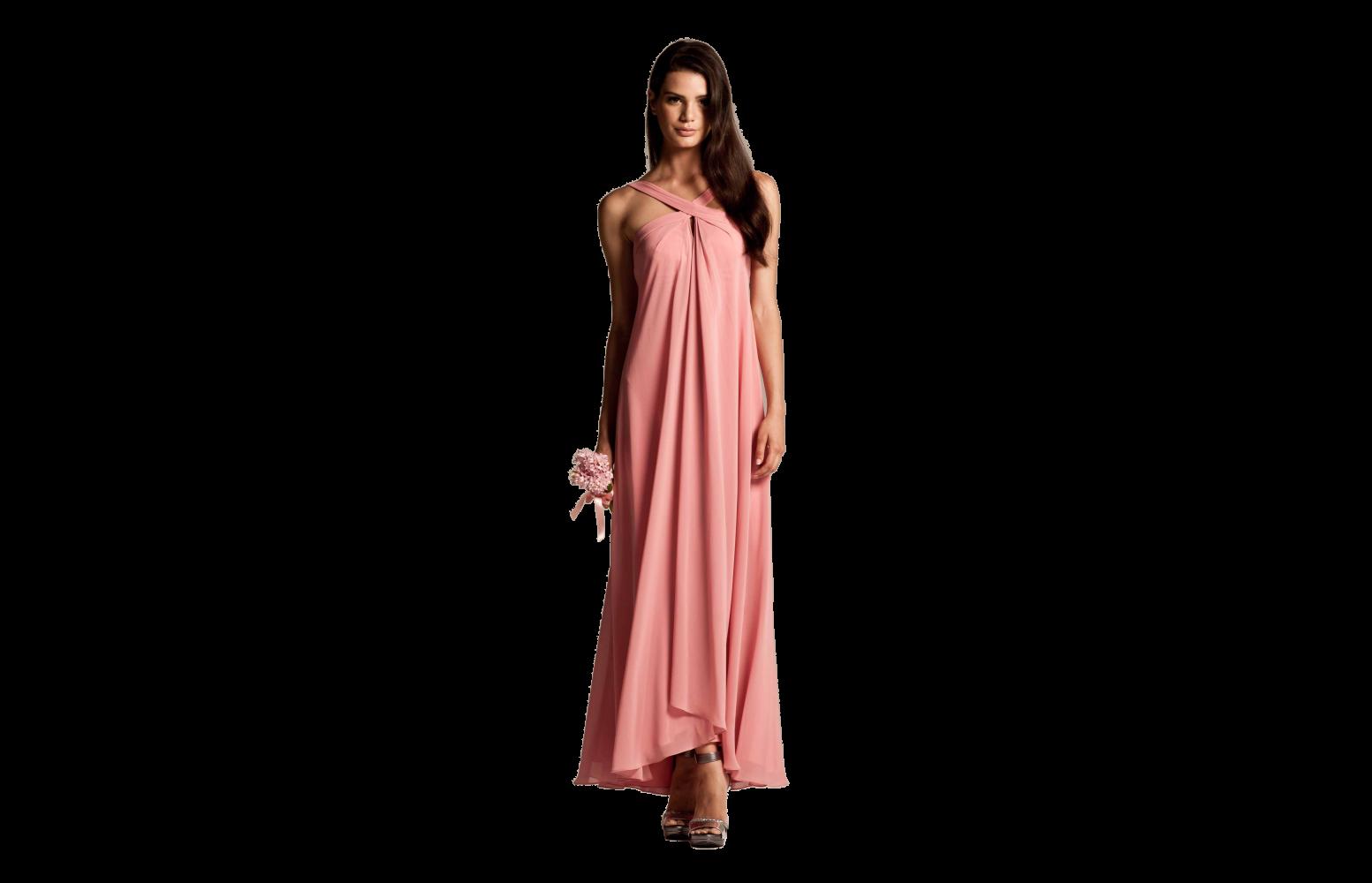 Your Bridesmaids Will Look Elegant In Mia Coral Bridesmaid