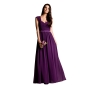 Plum bridesmaid dresses with sleeves online