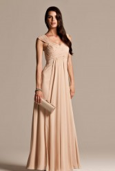 Natasha Millani beige bridesmaid dresses online