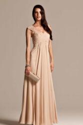 Natasha Millani beige bridesmaid dresses online