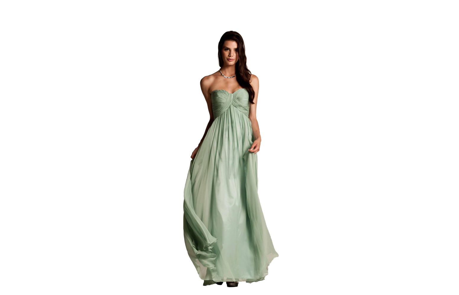 Natasha Millani green bridesmaid dresses online in Australia