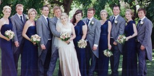 Natasha Millani real bridesmaids as seen in Bride to be magazine