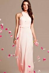 pink bridesmaid dresses online