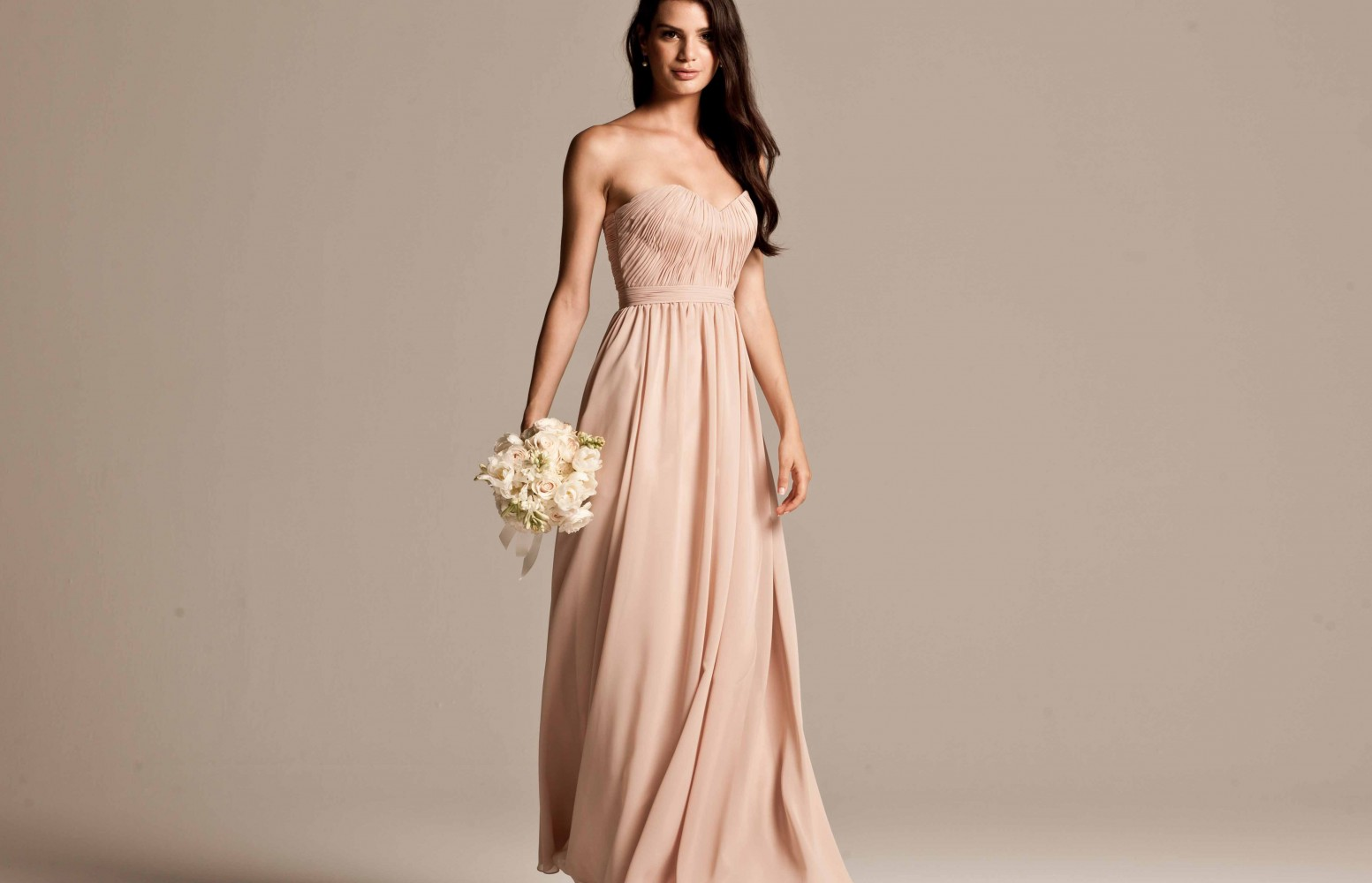 Beige bridesmaid dresses for Image of wedding dresses