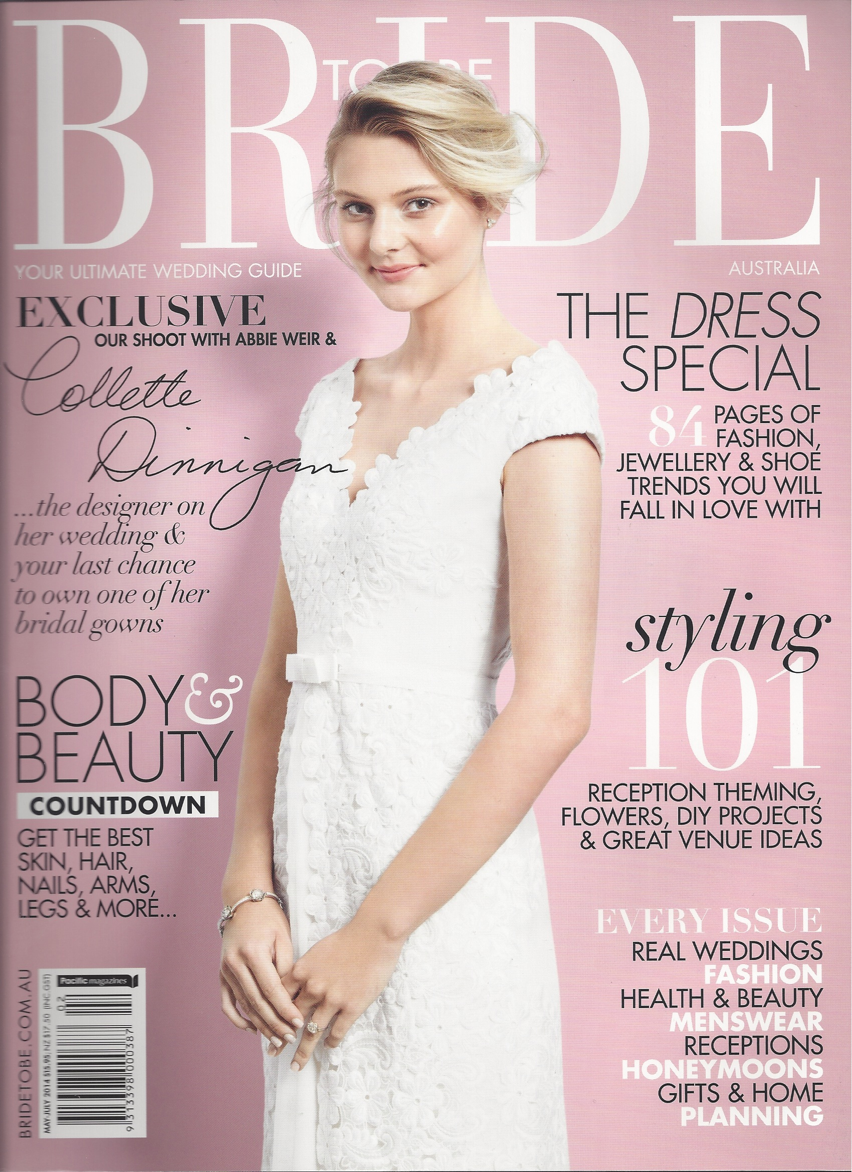 how to get featured in a bridal magazine